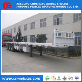 40FT container 3 Flatbed Semi Aanhangwagen van de As