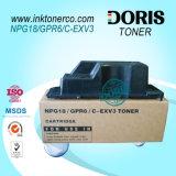 Cartucho de tonalizador compatível Npg18 Gpr6 Npg-18 Gpr-6 C-Exv3 para Canon