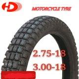Venezuela-Marktstruktur-schlauchloser Motorrad-Reifen/Motorrad-Gummireifen 275-18, 360-18