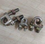 Caisse de fer de moulage de clip de câble métallique