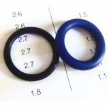 Кольца запечатывания кремния таможни FKM Viton