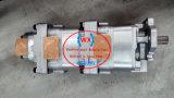 Komatsu нагнетает насос с зубчатой передачей 705-55-33080 изготовления гидровлический для затяжелителя Wa380-5 колеса