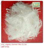 4detax 51long baja fibra del fusión fibra baja del poliester de la fibra