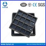 крышка люка -лаза En124 450X450mm составная D400 с сертификатом SGS