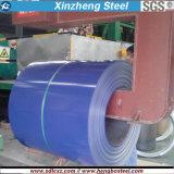 La hoja del material para techos de Q235B galvanizó la bobina de acero con la lentejuela regular