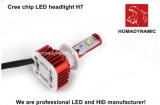 Chip LED Headlight/LED del CREE fuori dall'indicatore luminoso di azionamento della strada Light/LED 6000k 4800lm H7