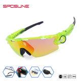 La propia marca personalizada nueva Bike Motorcycle Racing Gafas Vintage Anti-UV de lente polarizada gafas