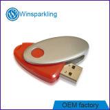 Disco instantâneo do USB do USB 2.0 do plástico da torção