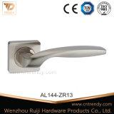 Старинные латунные алюминиевые ручки двери с замком крышки (AL044-ZR05)