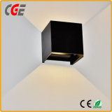 Lámpara de pared decorativa del aluminio IP65 LED con el Ce RoHS