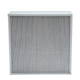 Mini filtre du pli HEPA de bâti en aluminium (HS)