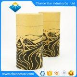 Imprimé personnalisé du papier kraft Emballage de cadeau tube en carton