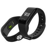 Montre intelligente de sport de bracelet de forme physique d'ODM Bluetooth d'OEM