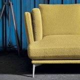 Sofá simples do couro do lazer do estilo de Italy