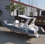 Liya 8-27m China Fabricante de embarcación inflable barco Rib en venta