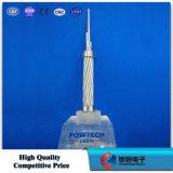 Fil de terre composé de fibre optique (structure excentrique C-04 de tube d'OPGW)