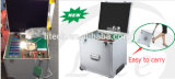 Bewegliche Lumen-Prüfvorrichtung des LED-Multifunktionsbeleuchtung-Demo-Fall-LED