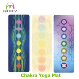 Циновка Pilate йоги печати сублимации Chakra изготовленный на заказ для людей и женщин