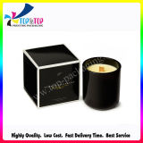 Caixa de cartão da vela da impressão de cor de Pantone para a vela do copo