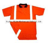 UPT004 100% Kostuum van de Arbeid van de Overall van de T-shirt van de Kokers van het Overhemd van het Polo van de Polyester het Korte