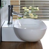 Sanitaires chant mince Ceramic Art lavabo pour salle de bain (1143)