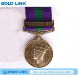 Medalha feita sob encomenda da honra da concessão dos ofícios do metal do emblema militar da medalha