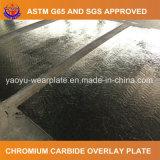 Plaque résistante d'abrasion de soudure de carbure de chrome