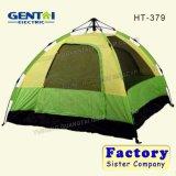 Nuova tenda con colore verde