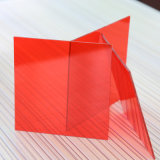 Ambos os lados Anti-Riscam a folha contínua do policarbonato com revestido UV