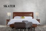 Самомоднейшая американская мебель Sk21 спальни кровати ткани кровати кожи типа