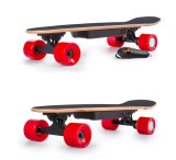 250W 24V a 15km/h las cuatro ruedas cubo la potencia del motor eléctrico de la Junta Skateboard