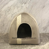 Base do gato de casa do animal de estimação da base do filhote de cachorro do cão da base da casa do gato do produto do animal de estimação