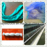 Зеленая Knotless рыболовная сеть пластмассы удя снасти