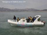 Barco inflable semirrígido del bote de Liya los 8.3m del casco inflable de Hypalon