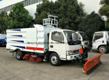 Balayeuse du camion 4m3 de nettoyage de route de Dongfeng