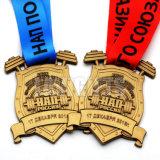 Medaglia su ordinazione di figura del Gobbler del metallo del campione libero di promozione