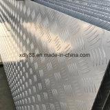 Piatto Checkered dell'impronta di alluminio