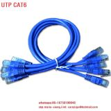 De Communicatie Toebehoren van het netwerk & en Kabel van het Flard CAT6A F/UTP van de Manier de Gepantserde Slanke