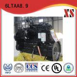 기계적인 기계 회전하는 드릴링 리그, 굴착기, 눈 제거 트럭, 기중기, 포장 기계, 포장 도로 롤러, 로더를 위한 Dcec Cummins 디젤 엔진 6ltaa8.9-C360