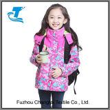 Девочек для использования вне помещений зимой 3-в-1 куртка с флис гильзы цилиндра