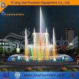 Controlar la música de LED DMX agua iluminada fuente estanque