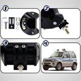 Sistema elétrico impermeável aprovado diodo emissor de luz de RoHS do Ce auto que conduz a barra clara do diodo emissor de luz de ATV 36W