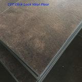 Plancher imperméable à l'eau du carrelage de vinyle de cliquetis de 100% Lvt/PVC