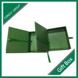 Bunter Druckpapier-Geschenk-Kasten mit Farbband für das Kosmetik-Packen