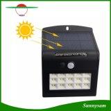 Lampada da parete solare solare impermeabile del giardino di modi di illuminazione dell'indicatore luminoso 4 del LED 15 LED