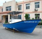 Liya bon marché de 7,6 m Bateau de pêche des bateaux en fibre de verre pour la pêche