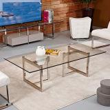 Tavolino da salotto caldo di vetro di svago di vendite
