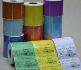 Etiqueta engomada modificada para requisitos particulares del rodillo del papel del código de barras