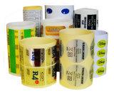 Etiquetas engomadas autas-adhesivo impresas rodillo respetuoso del medio ambiente de encargo del papel de escritura de la etiqueta de la etiqueta engomada