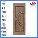 Кожа двери нутряного Veneer переклейки деревянная отлитая в форму (JHK-014)